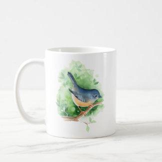 Taza De Café Pájaro en rama