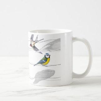 Taza De Café pájaros