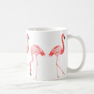 Taza De Café Pájaros del flamenco