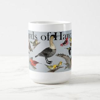 Taza De Café Pájaros endémicos de Hawai'i