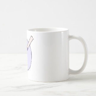 Taza De Café Paleta púrpura - equipo de la herramienta del