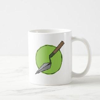 Taza De Café Paleta verde - el juego de herramientas del