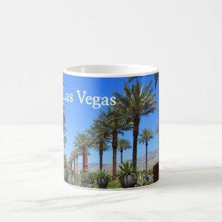 Taza De Café Palmeras de Las Vegas en la roca roja