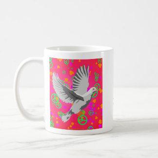 Taza De Café ¿Paloma de la paz - no podemos todos apenas
