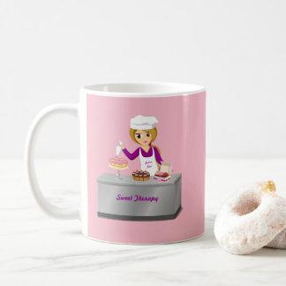 Taza De Café Panadería dulce del bebé del panadero de la