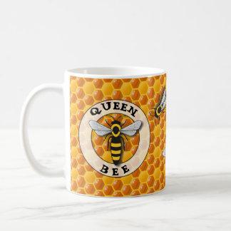 Taza De Café Panal de la abeja reina