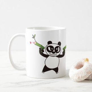 Taza De Café Panda enojada 28 de la cara