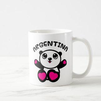 Taza De Café Panda la Argentina