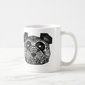 Taza De Café Panda modelada