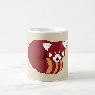 Taza De Café Panda roja