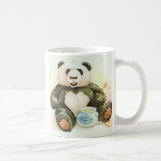 Taza De Café Panda y miel