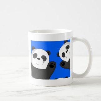 Taza De Café Pandas lindas