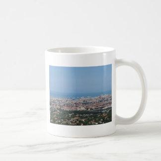 Taza De Café Panorama aéreo espectacular de la ciudad de