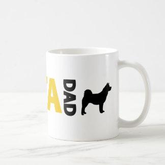 Taza De Café Papá de Akita