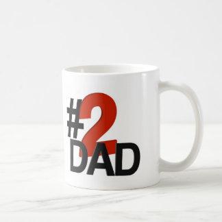Taza De Café Papá de número dos