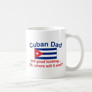 Taza De Café Papá del cubano de Gd Lkg