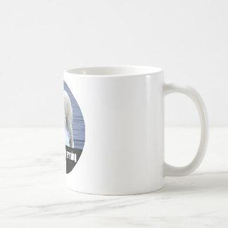 Taza De Café Pare el calentamiento del planeta ahora