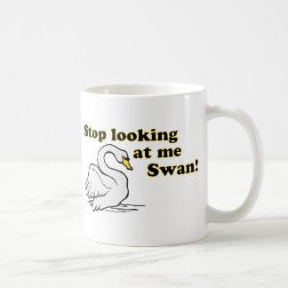 Taza De Café Pare el mirar de mí cisne