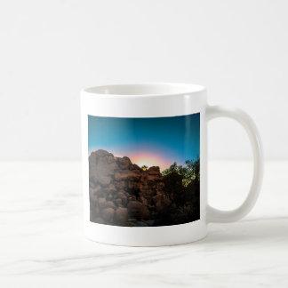 Taza De Café Parque nacional de la yuca de la salida del sol