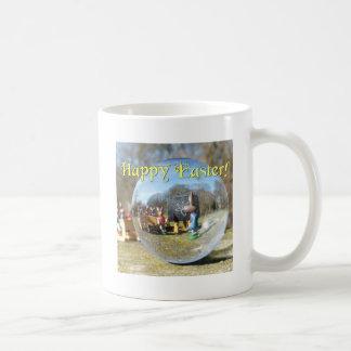 Taza De Café ¡Pascua feliz! Escuela 02.0.T del conejito de
