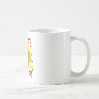 Taza De Café Pascua feliz, narcisos 02.T