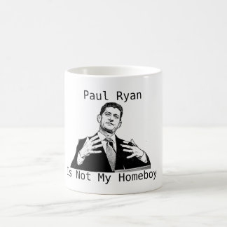 Taza De Café Paul Ryan no es mi Homeboy (la TAZA)