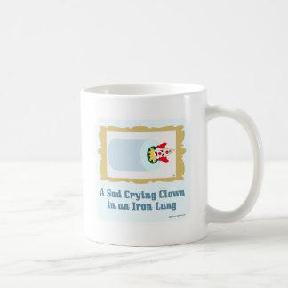 Taza De Café Payaso gritador triste