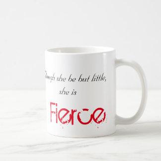 Taza De Café Pequeño pero feroz - Shakespeare