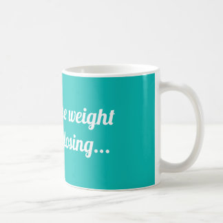 Taza De Café Perdería el peso pero odio perder