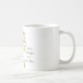 Taza De Café Perdiz en un peral