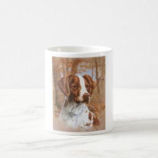Taza De Café Perro de aguas de Bretaña