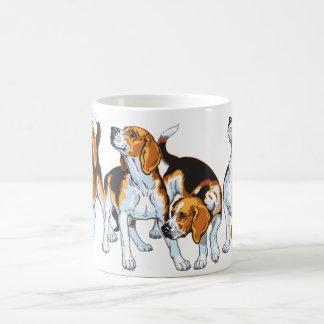 Taza De Café perro del beagle