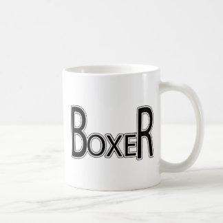 Taza De Café Perro del boxeador