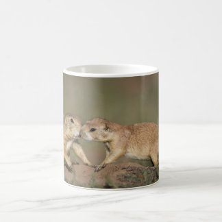Taza De Café Perros de las praderas que saludan