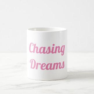 Taza De Café Persecución de sueños