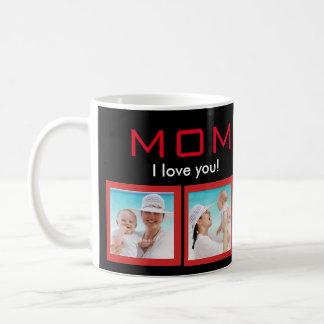 Taza de café personalizada de la foto para la