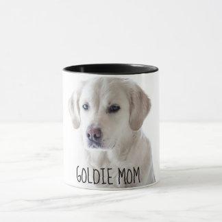 Taza de café personalizada de la mamá del perrito