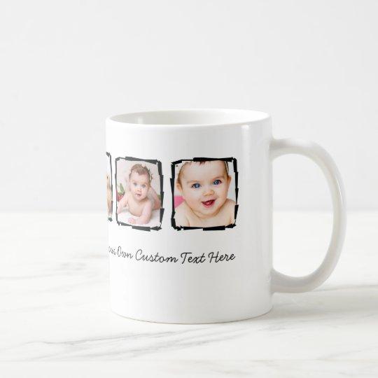 Taza De Café Personalizado único personalizado marco del