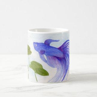 Taza De Café Pescados azules de Betta