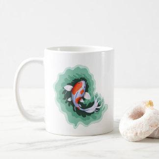Taza De Café Pescados lindos de Koi