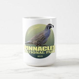 Taza De Café PESO de NP de los pináculos (codorniz de