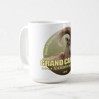 Taza De Café PESO de NP del Gran Cañón (carnero con grandes