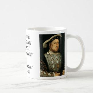 Taza De Café Phillip II, Enrique VIII, estos hombres tenía más