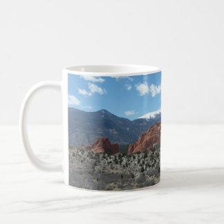 Taza De Café Pico de los lucios, jardín de dioses, Colorado