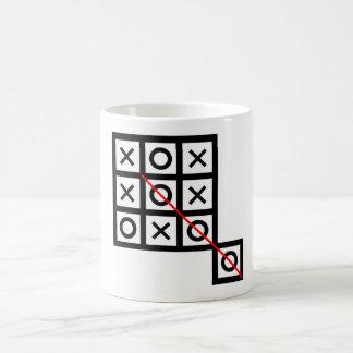 Taza De Café piense fuera del clev elegante adicional del dedo