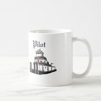 Taza De Café Piloto del remolcador