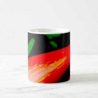 Taza De Café Pimientas rojas