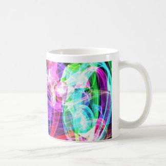 Taza de café pintada