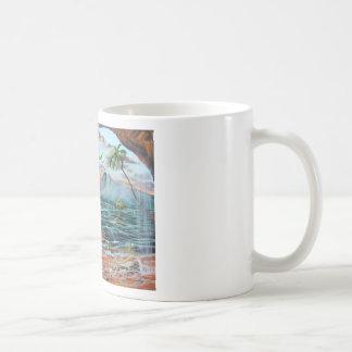 Taza De Café Pintura de Bell del chapucero de la ensenada del