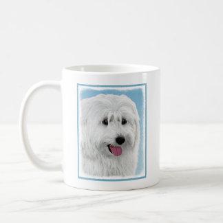 Taza De Café Pintura polaca del perro pastor de la tierra baja